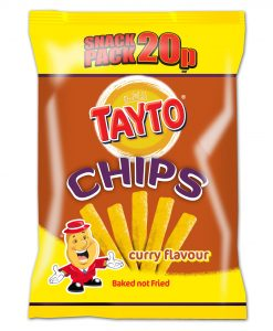 Tayto - Curry Flavour Chips