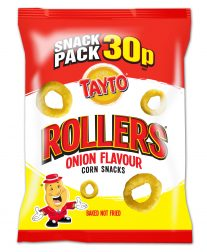 Tayto - Onion Flavour Rollers